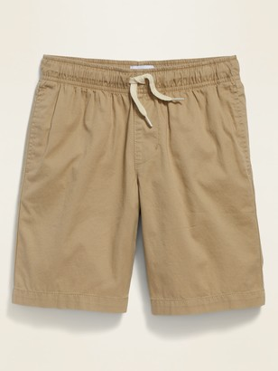 Old Navy Twill Pull-On Jogger Shorts for Boys