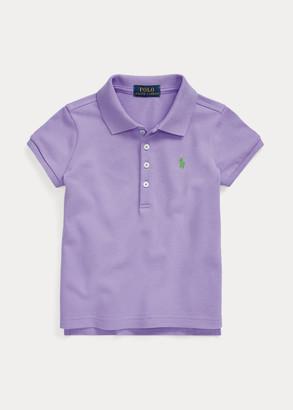 Ralph Lauren Stretch Cotton Mesh Polo Shirt