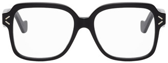 Loewe Black Oversized Square Glasses