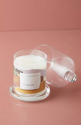 Anthropologie Home Cloche Candle