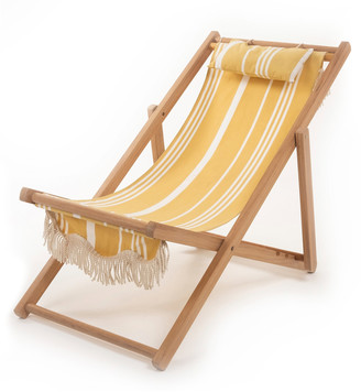 Business & Pleasure Premium Fringed Canvas Sling Chair