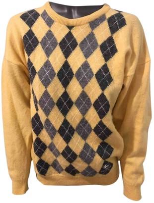 Burberry Yellow Wool Tops