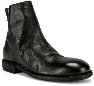 Guidi Back Zip Boot in Black | FWRD
