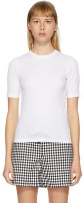 Rag & Bone White The Rib Slim T-Shirt