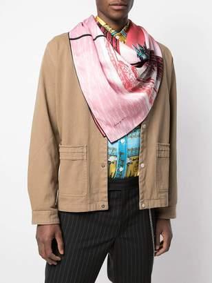 Julien David wave summer scarf