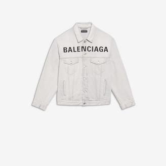 Balenciaga Chest Logo Jacket