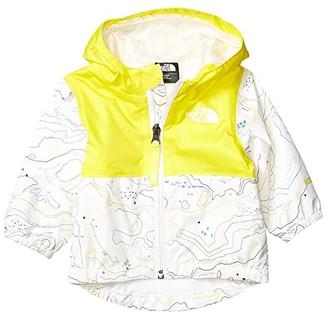 The North Face Kids Zipline Rain Jacket (Infant) (TNF White Little Yose Print) Kid's Clothing