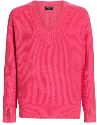 Rag & Bone Pierce Cashmere V-Neck