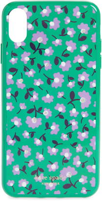 Kate Spade jeweled party floral iPhone Xs Max