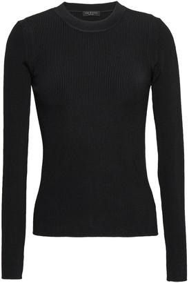 Rag & Bone Sylvie Ribbed-knit Top