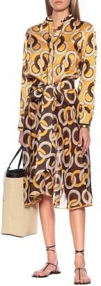 F.R.S For Restless Sleepers Eurito printed silk pajama top