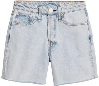 Rag & Bone Maya High-Rise Midi Jean Shorts