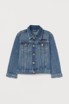 H&M Reversible-sequin Jacket - Blue