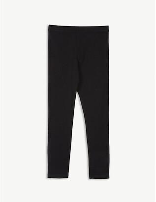 Burberry Branded stripe cotton-blend leggings 3-14 years