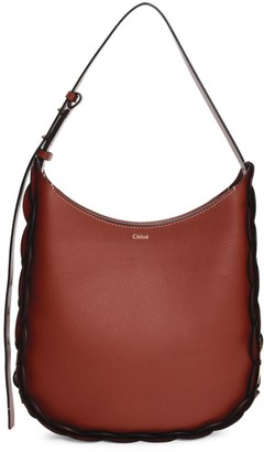 Chloé Medium Darryl Braided Leather Hobo Bag
