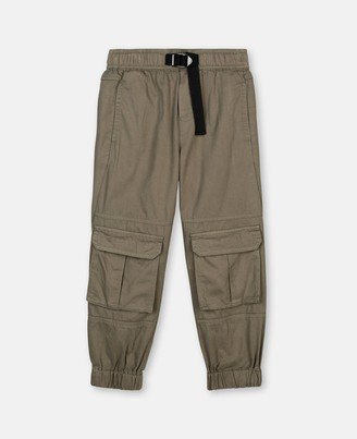 Stella Mccartney Kids Cotton Cargo Pants, Men's