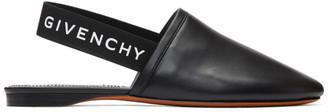 Givenchy Black Rivington Slingback Mules
