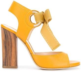Lanvin bow tie sandals