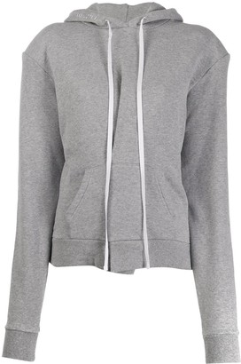 Unravel Project Drawstring Long-Sleeved Hoodie