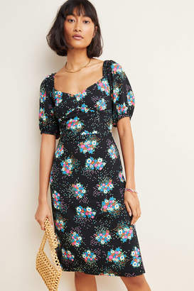 Anthropologie Scarletta Sweetheart Mini Dress