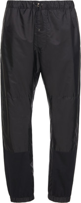 Prada Paneled Nylon Track Pants