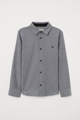 H&M Cotton Shirt - Gray