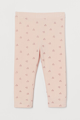 H&M 3/4-length Leggings - Pink