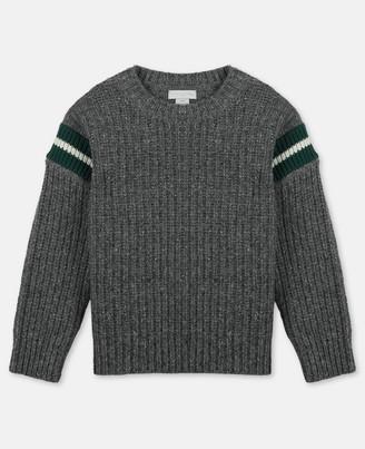 Stella Mccartney Kids Donegal Knit Sweater, Men's