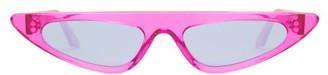Cat Eye Andy Wolf - Florence Cat-eye Acetate Sunglasses - Womens - Pink