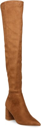Steve Madden Nifty Pointed Toe Over the Knee Boot