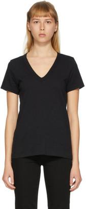 Rag & Bone Black The Vee T-Shirt
