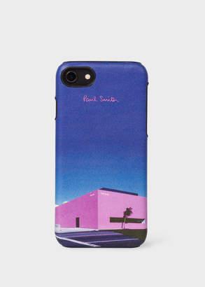 Paul Smith 'LA Shop' Leather iPhone 6/6S/7/8 Case