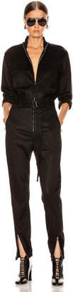 Cotton Citizen Utility Jumpsuit in Jet Black | FWRD