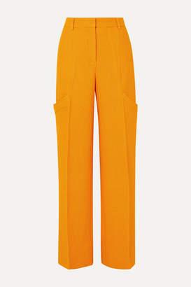 Jacquemus Moyo Cloque Straight-leg Pants - Orange