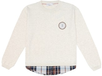 Brunello Cucinelli Kids Cotton sweater
