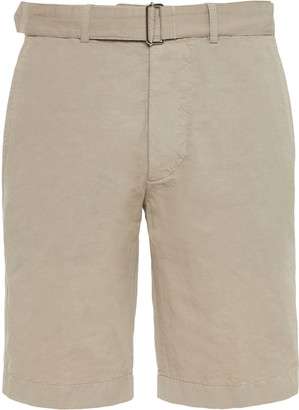 Officine Generale Julian Garment-Dyed Shorts