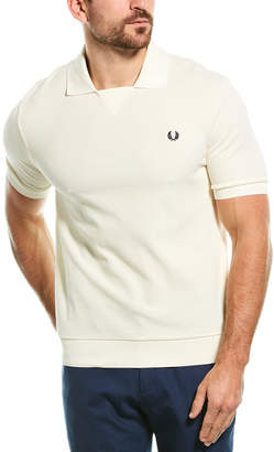 Fred Perry Waffle Knit Polo Shirt