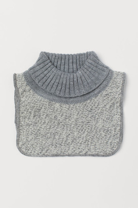 H&M Knit Turtleneck Collar - Gray