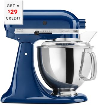 KitchenAid Artisan Series 5Qt Tilt-Head Stand Mixer - Ksm150psbw With $29 Credit