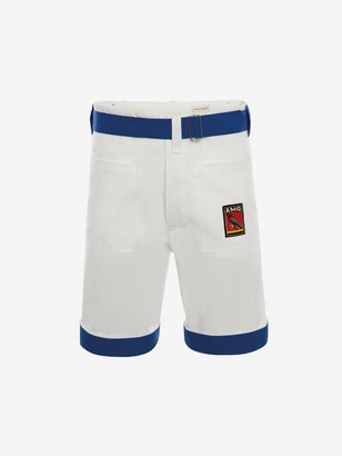 Alexander McQueen Gabardine Shorts