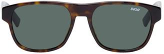 Christian Dior Tortoiseshell DiorFlag2 Sunglasses