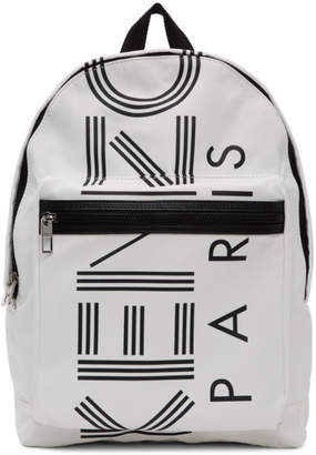 Kenzo Off-White Sport Logo Backpack