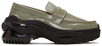 Maison Margiela Green Ridge Sole Loafers