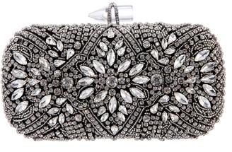 Nina Gelsey Crystal Embellished Minaudiere