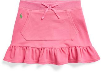 Ralph Lauren Ruffled Mesh Scooter Skirt