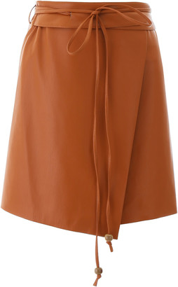 Nanushka Faux Leather Sekoya Skirt