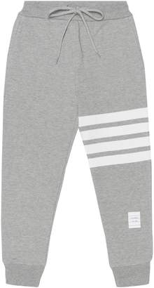 Thom Browne Kids Cotton trackpants