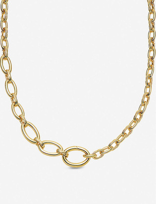 Missoma Graduated gold-plated necklace