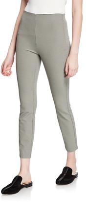 Rag & Bone Simone Skinny Micro-Check Crop Pants
