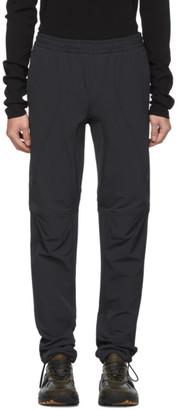 Bottega Veneta Black Technical Drawstring Trousers